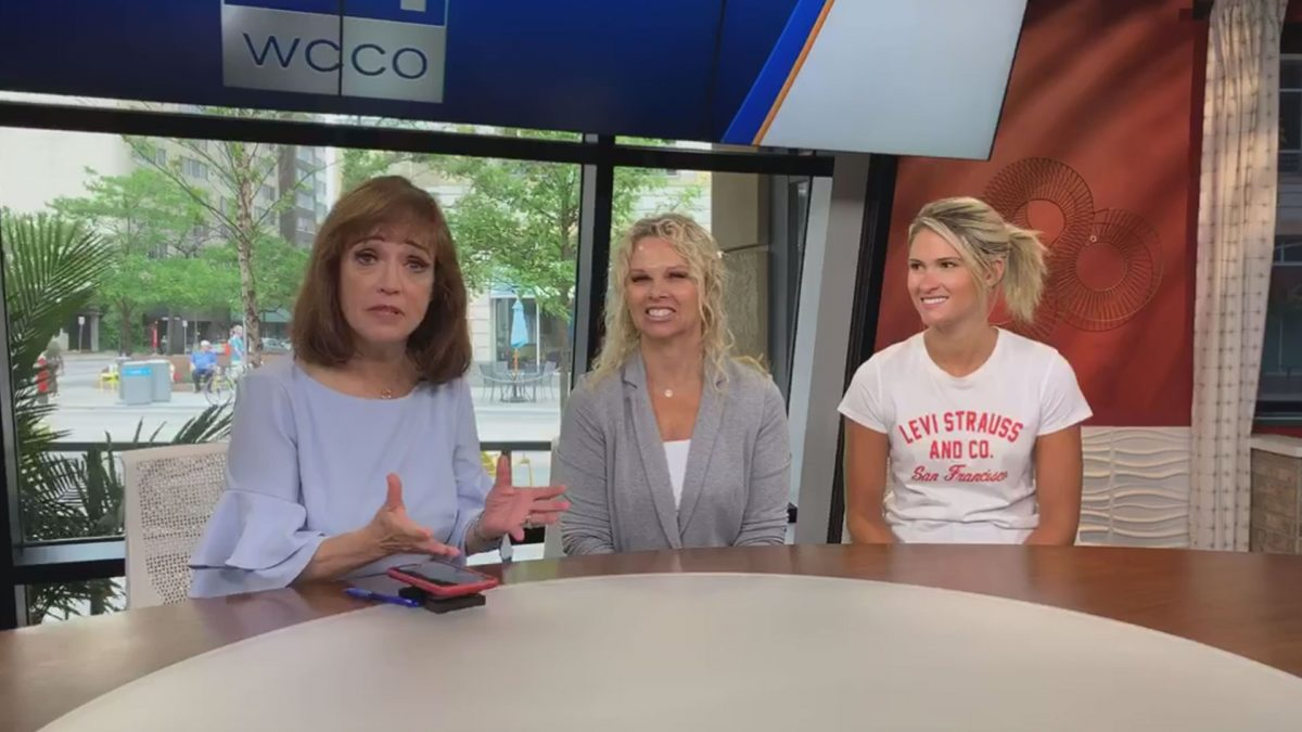WCCO TV Facebooked live with Lisa and Alexis Najarian on their journey with Lyme disease